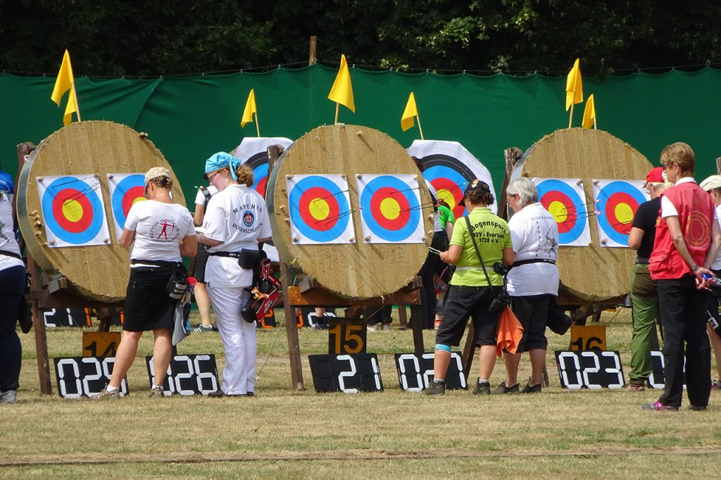 SICHTKRAFT 3D Scoreboard at a local competition in Germany 2017